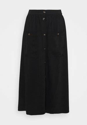 KAYSLI - A-line skirt - black