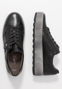 Gabor Comfort - Trainers - black - 3