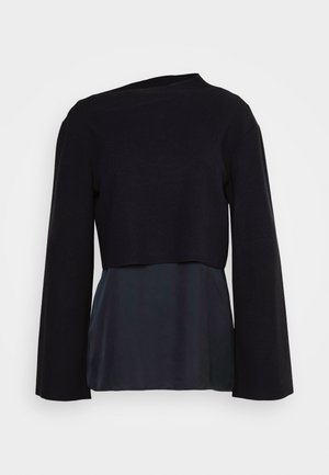 LAYERED 2-IN-1 - Jumper - navy