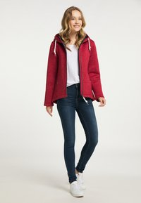 Schmuddelwedda - Fleece jacket - rot melange - 1