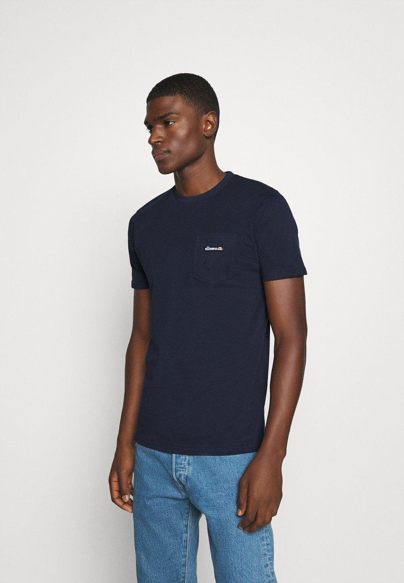 Ellesse - MELEDO - Basic T-shirt - navy