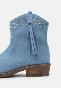 TWINSET - Cowboy/biker ankle boot - blue - 6