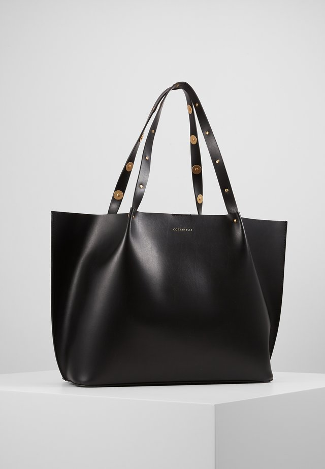 FENICE COIN DETAIL SHOPPER SET - Shopping bags - noir