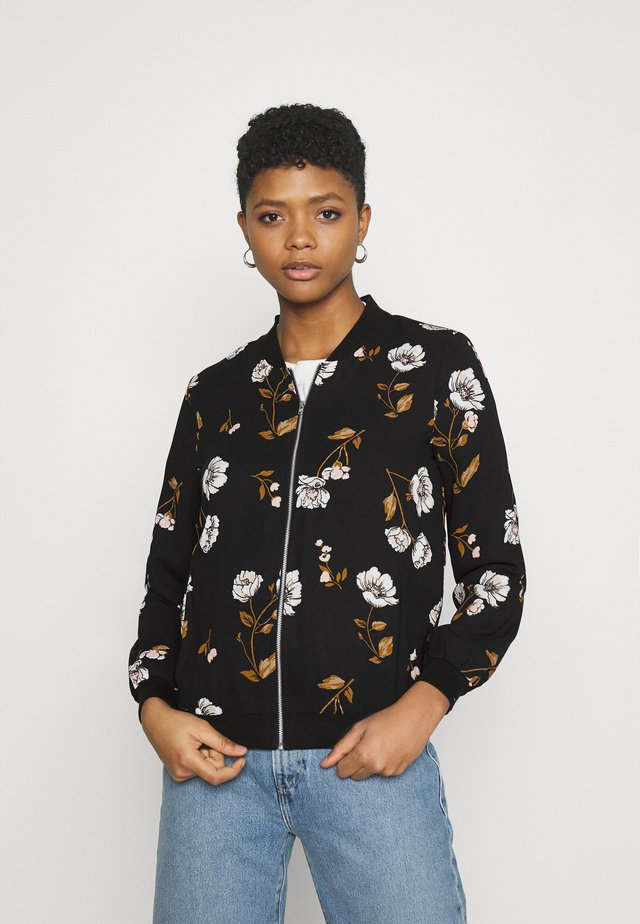 VMMELLIE - Bomber Jacket - black/mellie