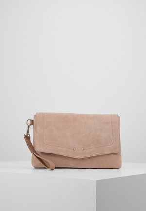 LEATHER - Clutches - rose