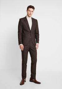 Shelby & Sons - HYTHE SUIT - Traje - brown - 1