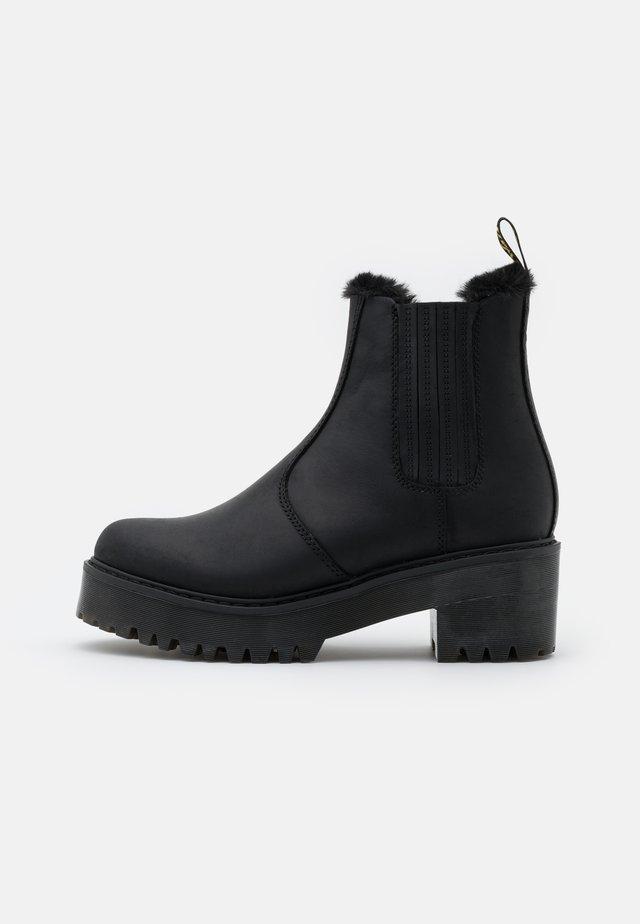 ROMETTY  - Platform ankle boots - black