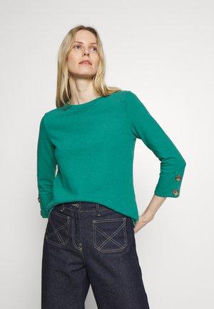 Sweatshirt - teal green