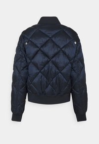 Tommy Jeans - TJW DIAMOND QUILTED BOMBER - Bomber Jacket - twilight navy - 6