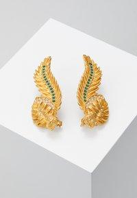 Versace - ORECCHINI - Boucles d'oreilles - verde/oro tribute - 0