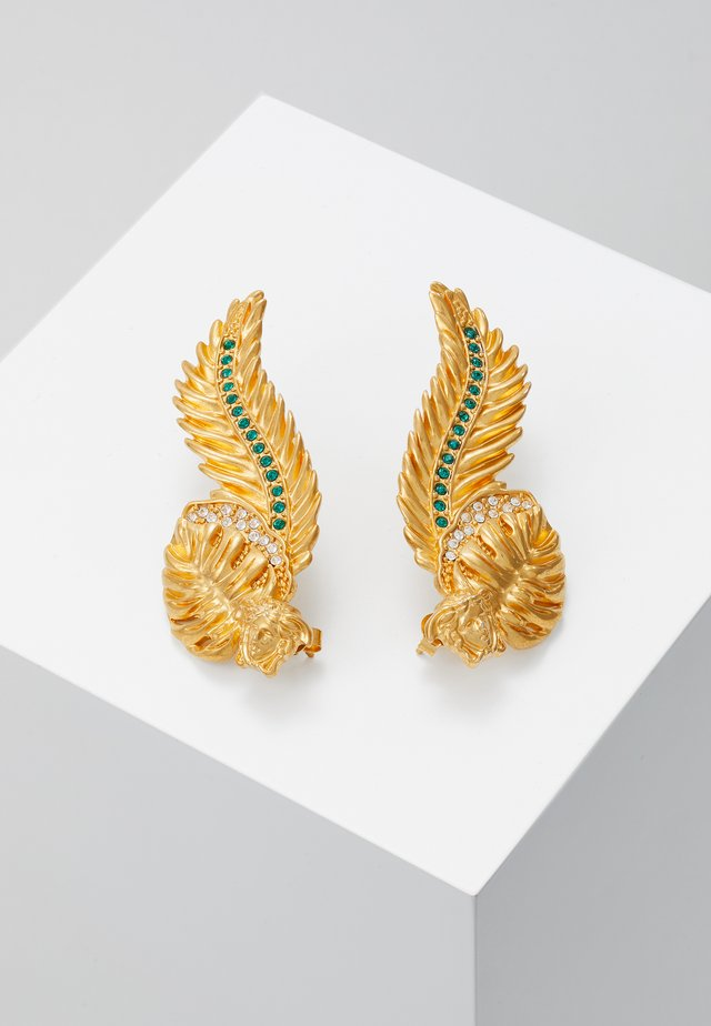 ORECCHINI - Korvakorut - verde/oro tribute