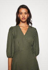 Minimum - ELMINA - Day dress - dark olive - 3