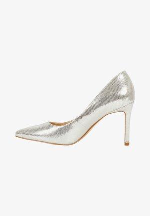 EZRA - Decolleté - silver leather