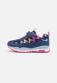 Geox - PAVEL GIRL - Sneakers laag - navy/multicolor - 0