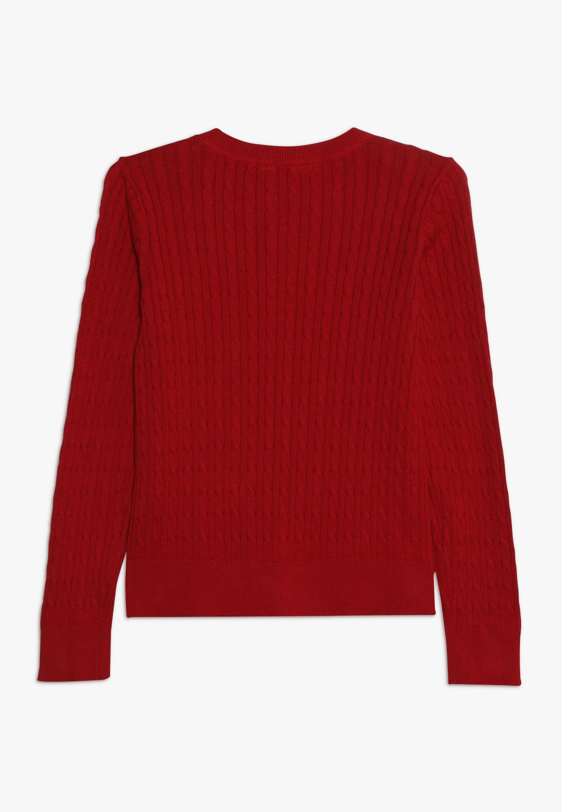 Gap Girls Uni Cable Cardi - Cardigan Ruby Red
