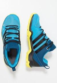 adidas Performance - TERREX AX2R - Hiking shoes - shock cyan/clear black/shock yellow - 0