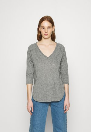 VMSUPER - Maglietta a manica lunga - light grey melange