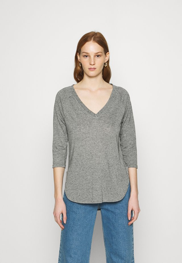 VMSUPER - Long sleeved top - light grey melange