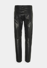 Tiger of Sweden Jeans - KEITH - Leather trousers - black - 1