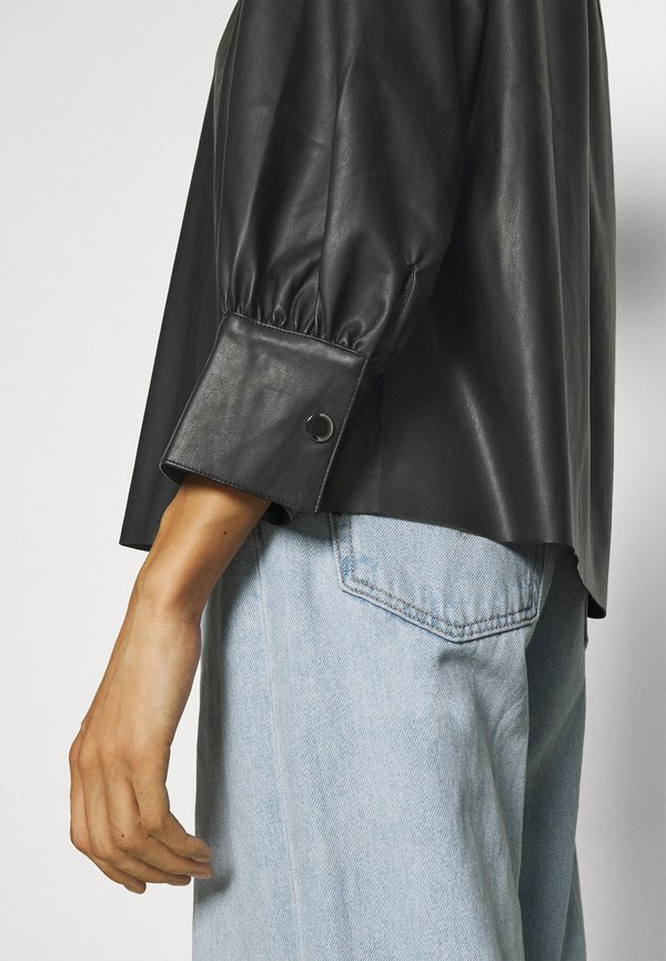 Opus FAGI - Bluzka z długim rękawem - black/czarny ARBB