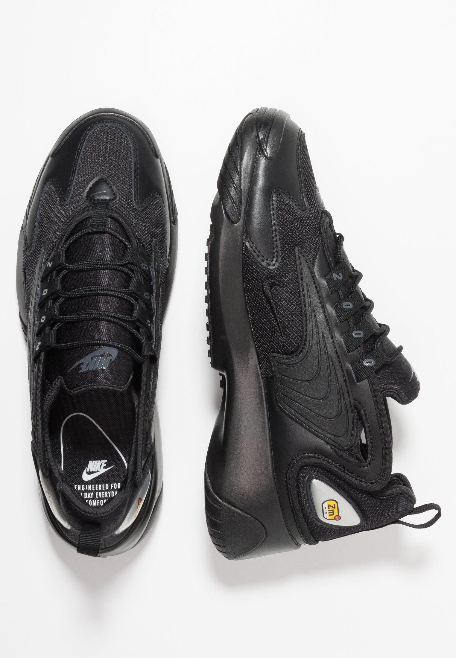 ZOOM - Sneakersy niskie - black/anthracite