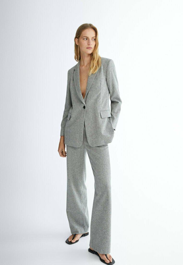 Massimo Dutti - Short coat - grey
