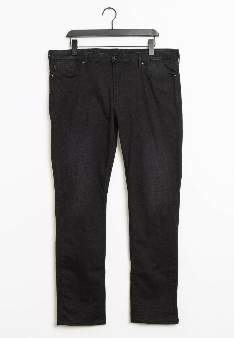 Emporio Armani - Slim fit jeans - black