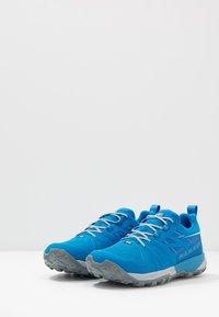 Mammut - SAENTIS LOW MEN - Hiking shoes - gentian/dark gentian - 2
