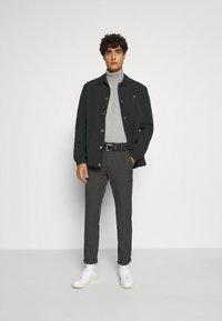 INDICODE JEANS - BURNS - Pullover - mottled light grey - 1