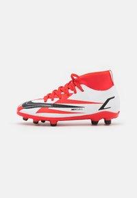 Nike Performance - MERCURIAL JR 8 CLUB CR7 FG/MG UNISEX - Kopačky lisovky - chile red/black/white/total orange - 0