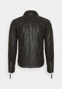 Gabba - PHIRE CRAN - Leather jacket - black - 1