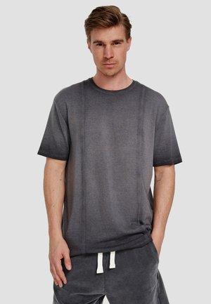 ORKUN - Basic T-shirt - black