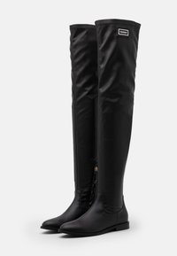 TWINSET - STIVALE TACCO BASSO CON GAMBALE STRETCH - Over-the-knee boots - nero - 2