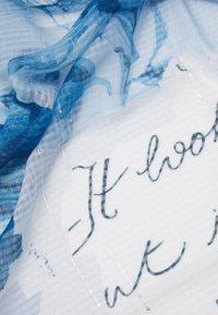 Desigual - FOU ART PICTURE - Scarf - azul tinieblas - 3