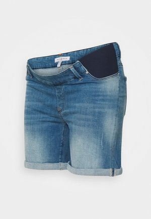 TAYLER - Denim shorts - light wash denim