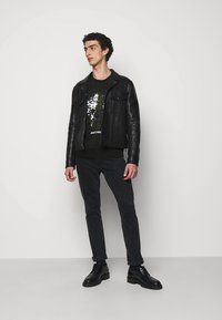 Just Cavalli - FELPA - Sweatshirt - black - 1