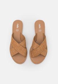 Rubi Shoes by Cotton On - EVERYDAY SCARLETT SLIDE - Sandaler - beige - 5