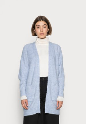 LONG CARDIGAN - Cardigan - brunnera blue