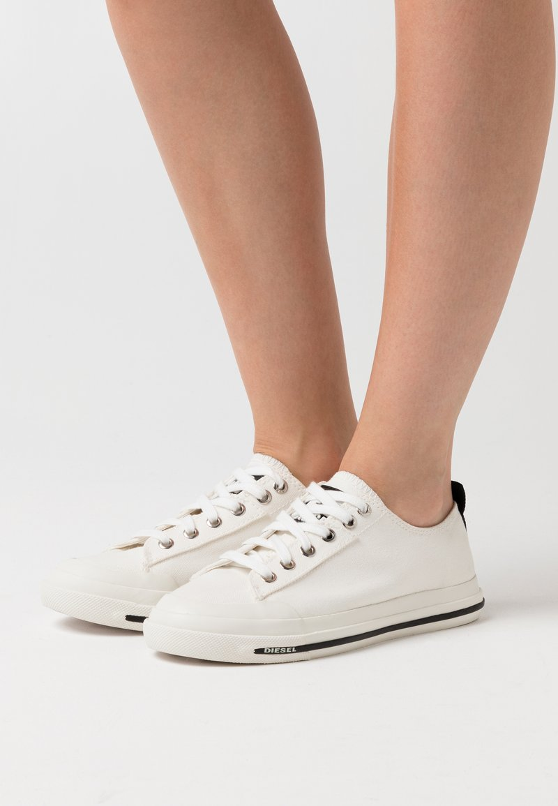 Diesel - ASTICO S-ASTICO LOW CUT W SNEAKERS - Trainers - white