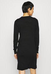 Saint Tropez - DAVILA DRESS - Jumper dress - black - 2