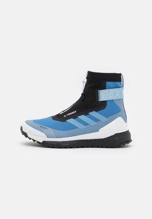 TERREX FREE HIKER C.RDY  - Vysoká chodecká obuv - focus blue/halo blue/core black
