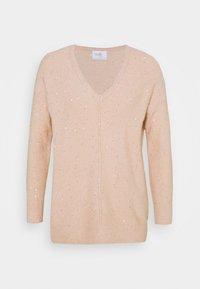 Wallis Petite - V NECK JUMPER - Pullover - blush - 3