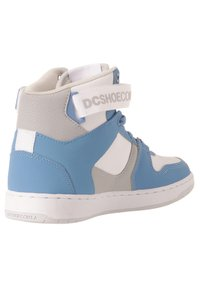DC Shoes - High-top trainers - white/lt blue - 2