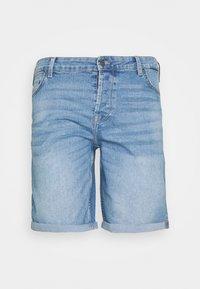 Only & Sons - ONSPLY SLIM - Denim shorts - grey denim - 0