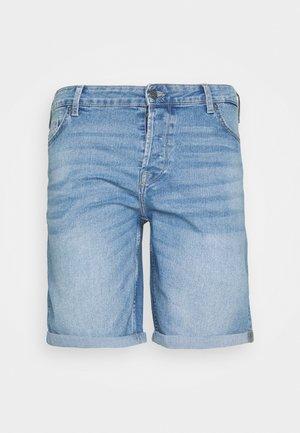 ONSPLY SLIM - Denim shorts - grey denim