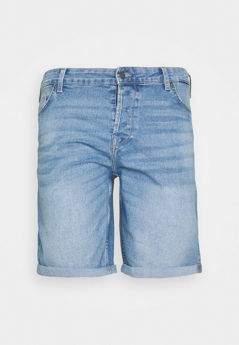 Only & Sons - ONSPLY SLIM - Denim shorts - grey denim