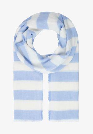 Scarf - hellblau-weiß