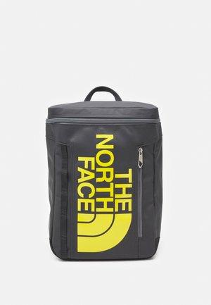 BASE CAMP FUSE BOX UNISEX - Plecak - asphalt grey/lightning yellow