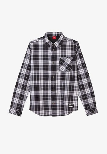 KARIERTES - Shirt - black check