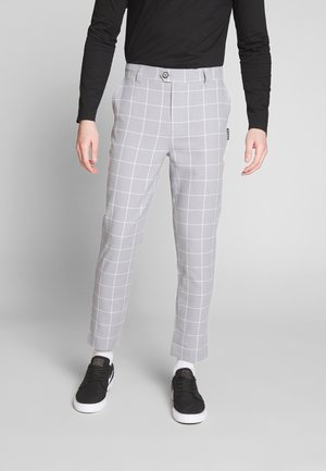 KARL TROUSER - Trousers - mid grey